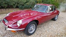1973 JAGUAR E TYPE V12 SERIES 3 MANUAL AND PROFESSIONALLY FULLY RESTORED