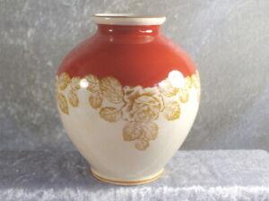 Langewiesen Oscar Schlegelmich Porzellan Vase Tischvase 70er GDR Thüringen