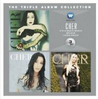 Cher - The Triple Album Collection (2012)  3CD  NEW/SEALED  SPEEDYPOST