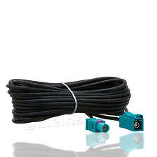 Fakra Antennen Verlängerungskabel 5,0m Buchse->Stecker (M>F) GPS Antenne Kabel