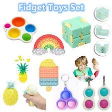 8Pack Figet Fidget Sensory Kids Toy Set Special Needs Silent Autism Classroom Uk