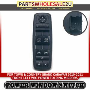 1 Set 10//2007- -CLI0033562 kompatibel zu Chrysler Town /& Country 5-Door Vordere Windabweiser US-Version Dodge Grand Caravan