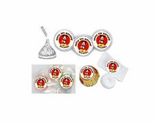 108 Mickey Mouse Birthday Hershey Kiss Labels Favors Stickers Personalized ANY