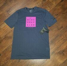 Nike Golf Club Collection Men's Slim T-shirt M Blue Pink Training Gym Casual