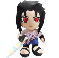 Anime Naruto Uchiha Sasuke Soft Stuffed Plush Toy Kids Gift 30cm New
