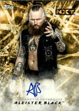 2018 Topps WWE Road to WrestleMania Autographs #AAB Aleister Black