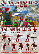 1:72 FIGURINES 72107 Italien Sailors in Combat 16-17 réapparaître SET DE 3