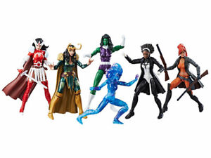 Marvel Legends A-Force Heroines Collectible Figure Set 6-Pack  **Exclusive**