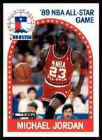 1989 NBA Hoops Michael Jordan Chicago Bulls #21