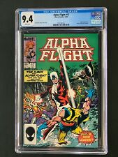 Alpha Flight #17 CGC 9.4 (1984) - X-Men appearance