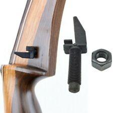 New listing Metal Center Arrow Rest Outdoor Shoot Archery Recurve Bow Composite Accessory