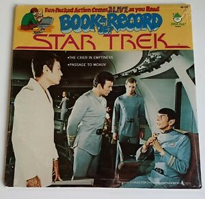 Star Trek Book & Vinyl Record LP Sealed The Crier in Emptiness Passage To Moauv