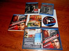 The Equalizer New + Unstoppable Lot of 2 Denzel Washington Blu-ray+Digital Read*