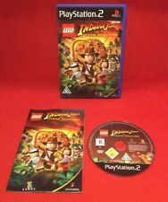 Lego Indiana Jones The Original Adventures - PLAYSTATION 2 PS2 -PAL - Tested