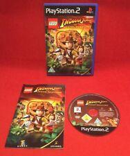 Lego Indiana Jones The Original Adventures-Playstation 2 PS2-PAL-getestet