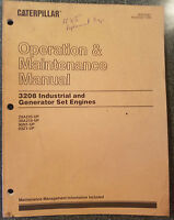 Caterpillar Operation & Maintenance Manual 3208 industrial & generator engine