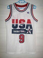 NBA #9 MICHAEL JORDAN USA SHIRT CAMPION JERSEY SIZE S
