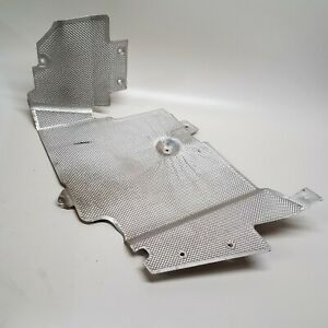 2008-2015 AUDI R8 ENGINE COMPARTMENT FLOOR PAN RIGHT PLATE HEAT SHIELD GUARD OEM