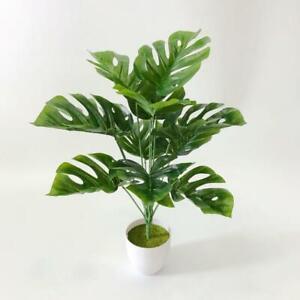 Large Artificial Plants Home Office Indoor Garden Faux Plant Tree Pot 40 cm