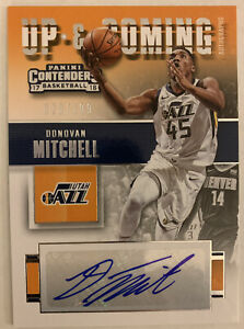 2017-18 Panini Up & Coming Contenders Donovan Mitchell Auto RC #20/199 ROOKIE