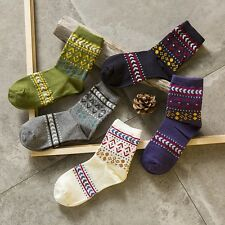5 Pair Lot New Soft Comfortable Warm Women Cotton  Casual Socks #K High Quality