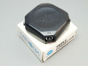 Minolta Triple Connector - For connecting up to 3 Flashguns - Clean and Boxed