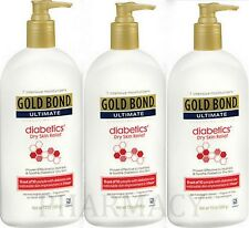Gold Bond Ultimate Diabetic Skin Relief Lotion 13 oz ( 3 Bottles )