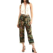 RILEY VINTAGE Camo Artist Pants Army Cargo Women's  Military $370