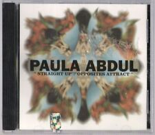 Paula Abdul Virgin '93 sealed CD single Straight Up/Opposites Attract