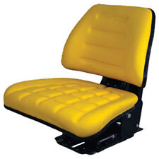 YELLOW ADJUSTABLE SUSPENSION SEAT JOHN DEERE FARM, UTILITY, COMPACT TRACTORS #GH