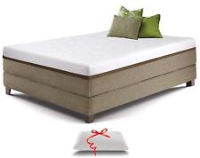 Cooling Gel Memory Foam Mattress 12-Inch King Size with Premium Foam Pillow
