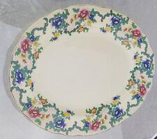 "Vintage Royal Cauldon Serving Dish Platter Plate 13"" x 10.5"" ""Victoria"" Pattern"