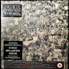 GEORGE MICHAEL CD x 3 + DVD Listen Without Prejudice 25 + 16  BONUS Deluxe BOX
