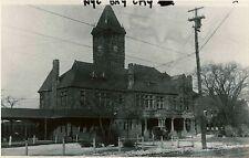 7F412 2NDGEN RP 1920s/1970s NEW YORK CENTRAL RAILROAD STATION BAY CITY MI