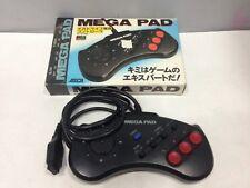 Mega Drive Controller MEGA PAD AS-1007-MD Working SEGA Genesis JAPAN boxed