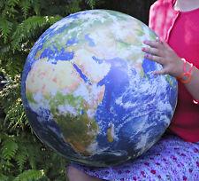 Ballon 40cm Impression numérique Mappemonde Terre vu de l'espace