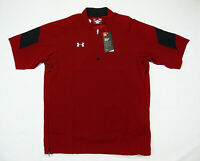 UNDER ARMOUR MENS SHORT SLEEVE 1/4 ZIP MASTERMIND CAGE JACKET SIZE S LOOSE FIT