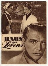 Filmprogramm: Haus des Lebens, Nr. 31/54