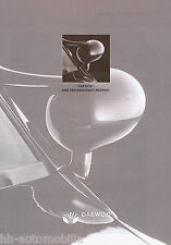Daewoo Prospekt 1994 Nexia Espero brochure Autoprospekt Broschüre brosjyre Auto