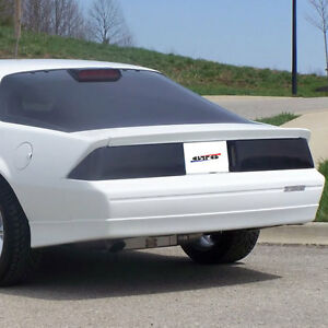 Fits 82-92 Chevrolet Camaro Base RS Z28 GTS Smoke Acrylic Taillight Covers GT030