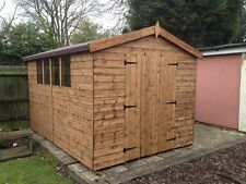 12x8 HEAVY DUTY APEX SHED -  13mm T/G, 3x2 FRAMEWORK