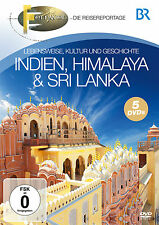 DVD India, Himalaya and Sri Lanka from Br Fernweh 5DVDs
