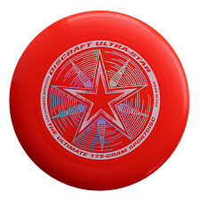 NEW Discraft ULTRA-STAR 175g Ultimate Frisbee Disc - BRIGHT RED