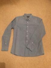 NEW Men's House Of Fraser Red Herring Medium Blue Work/Formal  Shirt