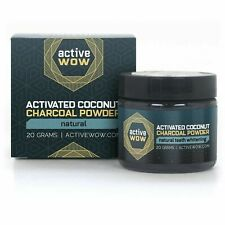 Active WOW 20g Teeth Whitening Charcoal Powder