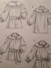 McCalls Sewing Pattern 4862 Misses Mens Costume Historical Size S-l Uncut