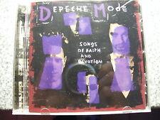 CD Depeche Mode / Songs of Faith and Devotion – EAN 5016025611065