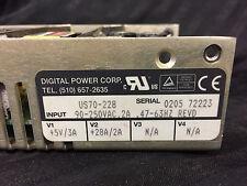 Digital Power Corp US70-228 Power Supply (V1+5v/3A, V2+28V/2A, Input 90-250 VAC)