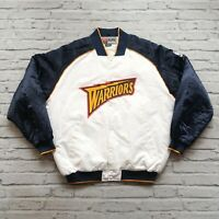 Vintage 00s Golden State Warriors Satin Jacket by Nike