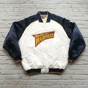Vintage 00s Golden State Warriors Satin Jacket by Nike
